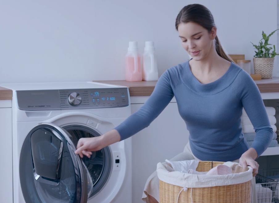 Технологичная стиральная машина