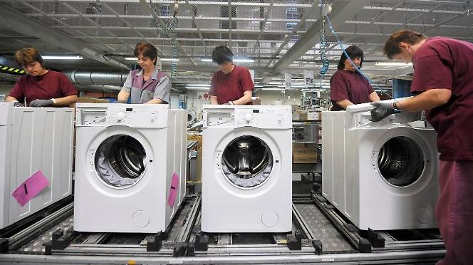 Цех сборки стиральных машин