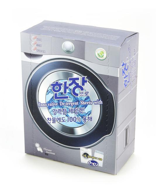 Листовой стиральный порошок Hanjang  с антистатическим эффектом