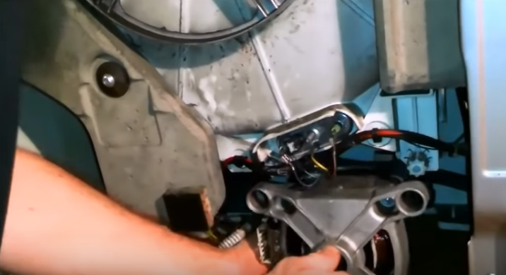 Изъятие двигателя