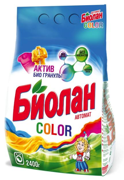 """Стиральный порошок """"Биолан Колор"""""""