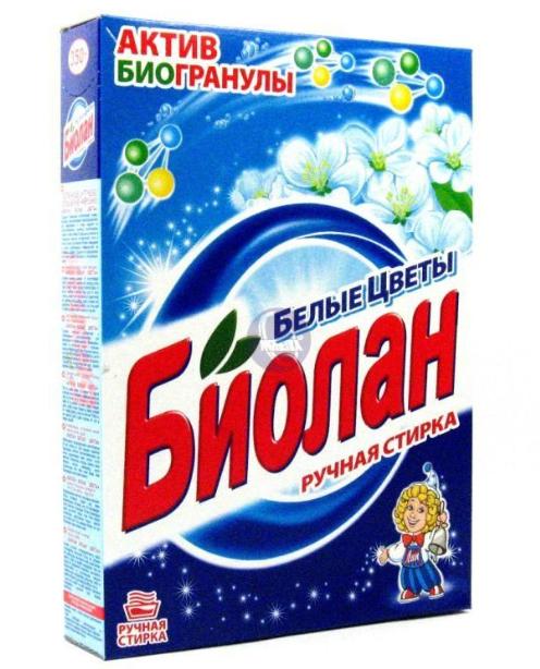 """Стиральный порошок """"Биолан Белые цветы"""""""