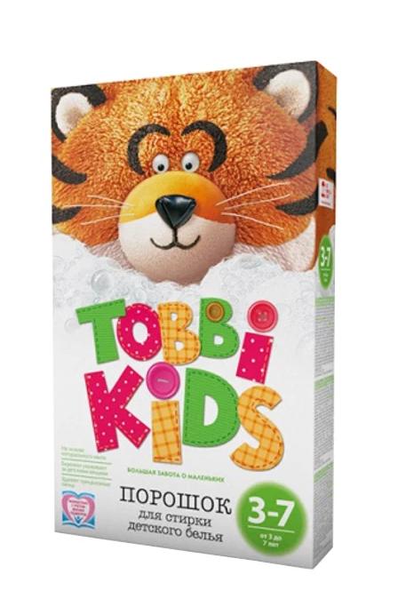 Порошок для детской одежды 3-7 лет Tobbi Kids 3–7