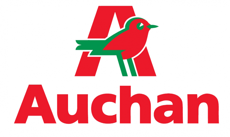 Логотип бренда Ашан