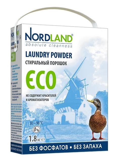 Отбеливающий порошок Nordland Laundry powder ECO