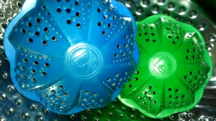 Каучуковые мячики для стирки