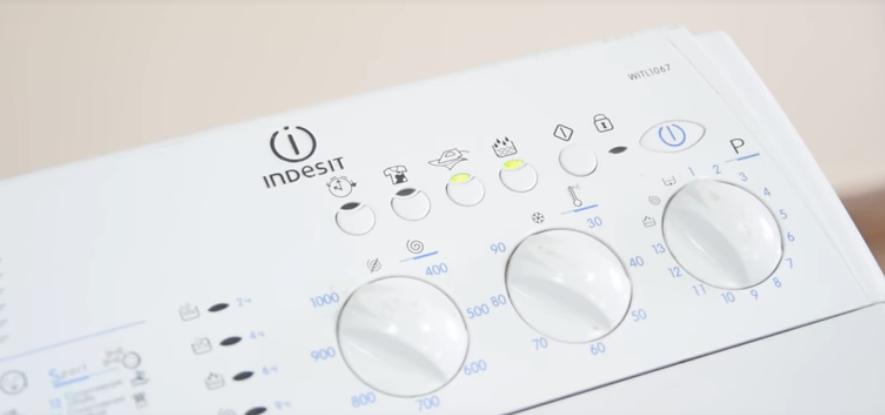 Тест-режим стиральной машины Индезит