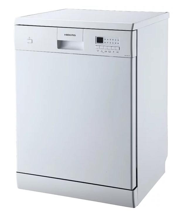 Модель ПММ HIBERG F68 1430 W с индикаторами моющих средств