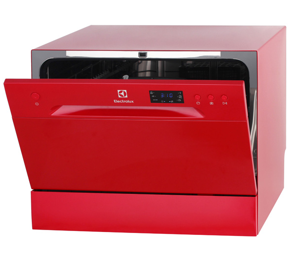 Вызывающая красная ПММ Electrolux ESF 2400 OH