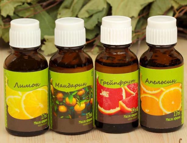 Разнообразные эфирные масла