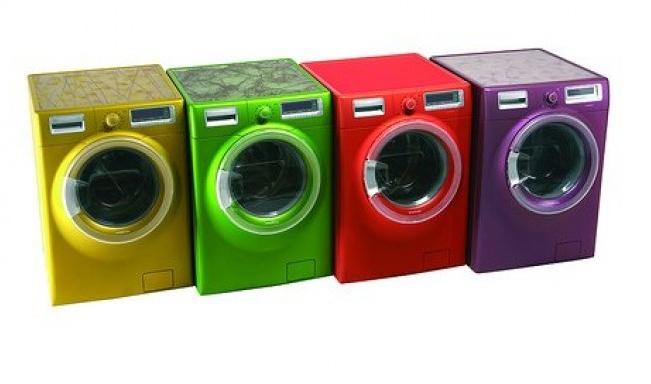 Разноцветные стиральные машины