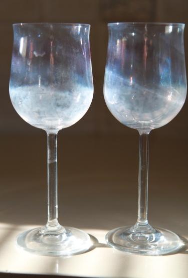 Помутнение стекла бокала