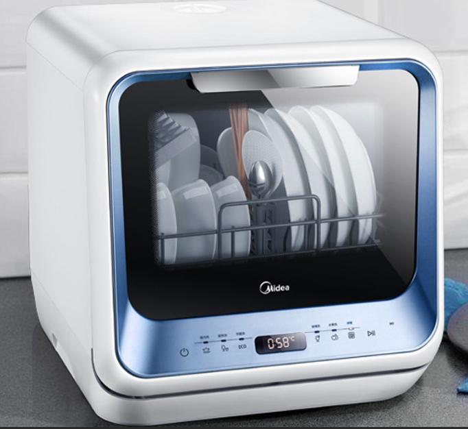 Обзор mini посудомоечных машин Midea