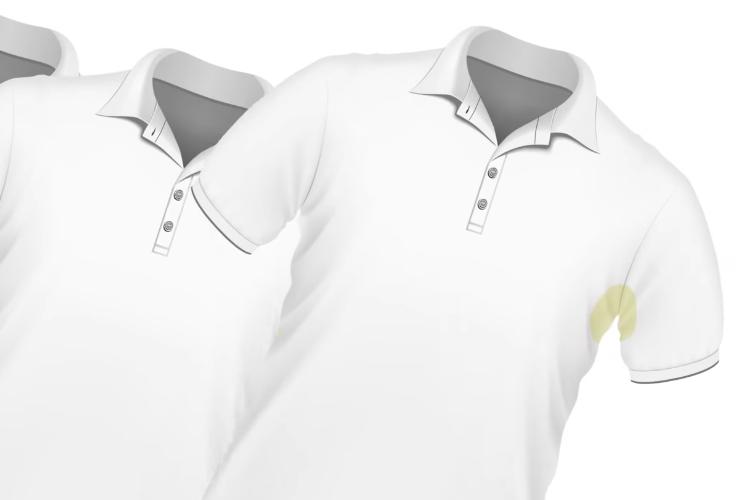 Белоснежная рубашка после стирки