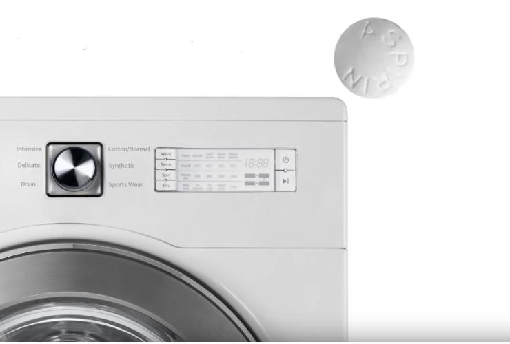 Аспирин и стиральная машина