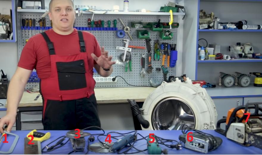 Инструменты для резки пластикового бака