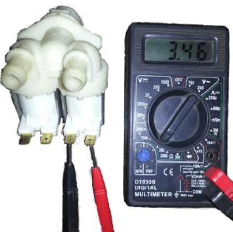 Тест клапана ПММ мультиметром