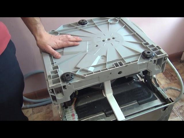 Перевернутая посудомоечная машина