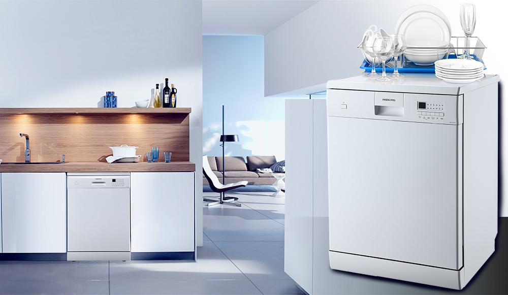 Посудомоечная машина от HIBERG в интерьере кухни