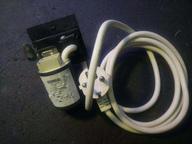 Сетевой фильтр и шнур питания ПММ Ginzzu