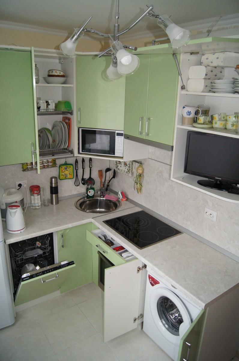 Встраивание техники в кухонную мебель